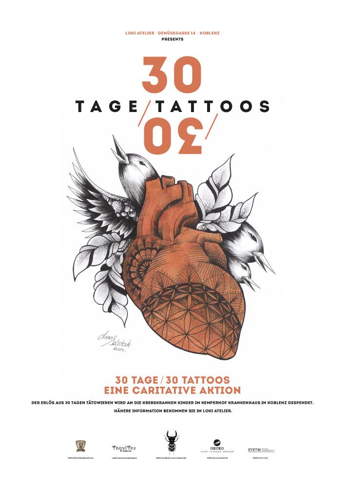 30 Tage 30 Tattoos