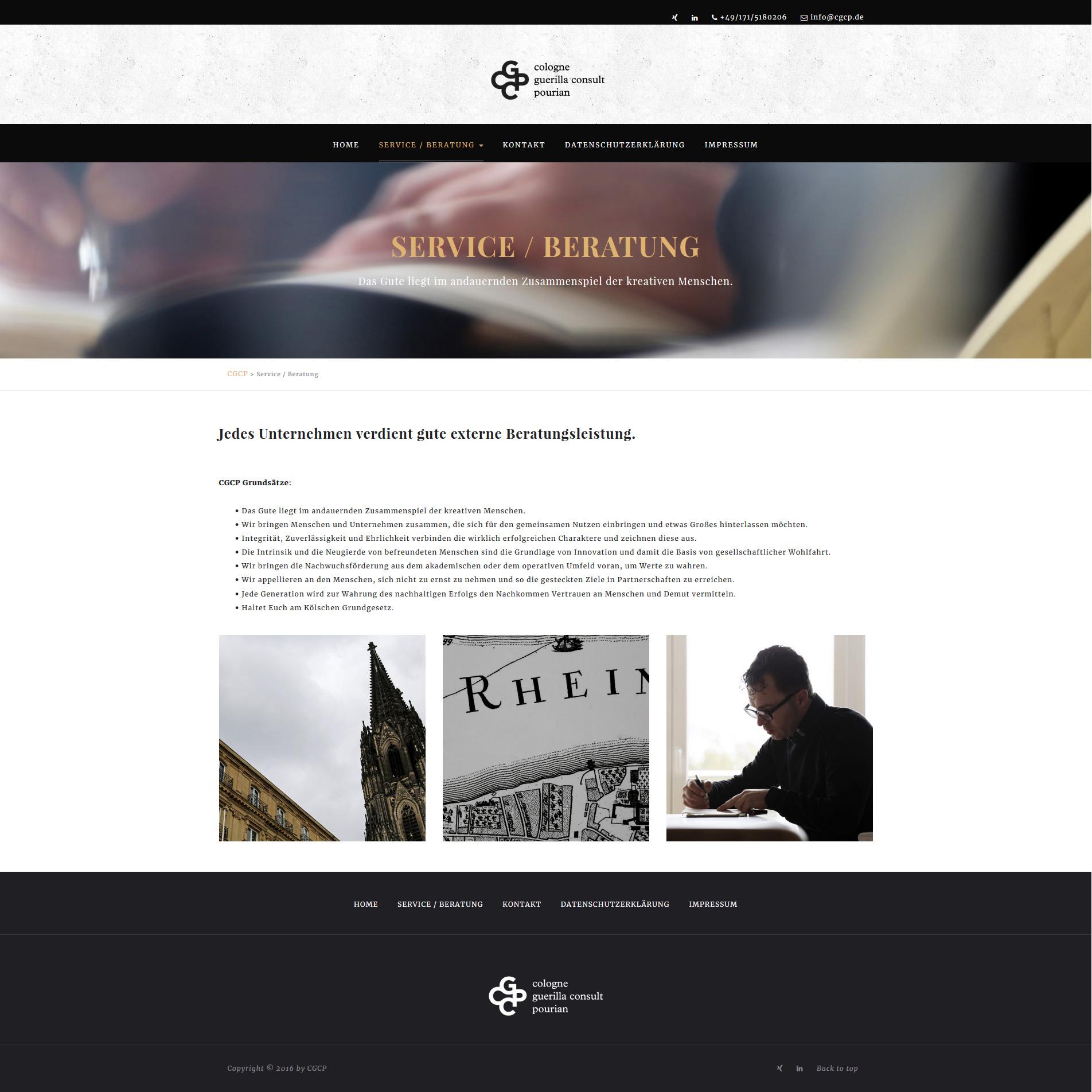 CGCP / Cologne Guerilla Consult Pourian