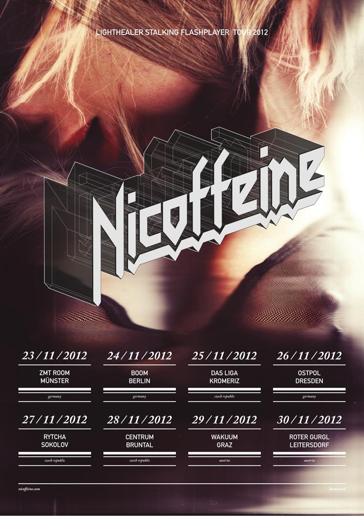 Nicoffeine EU-Tour Poster 20142