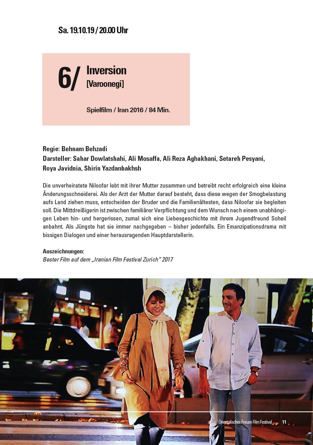 2. Orientalisches Frauen Film Festival Koblenz