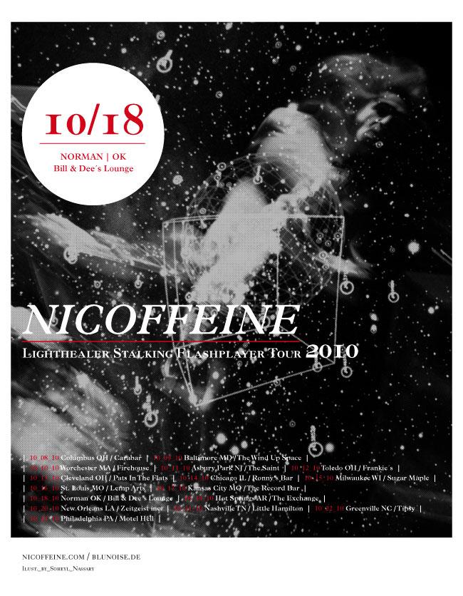 Nicoffeine US Tour 2011