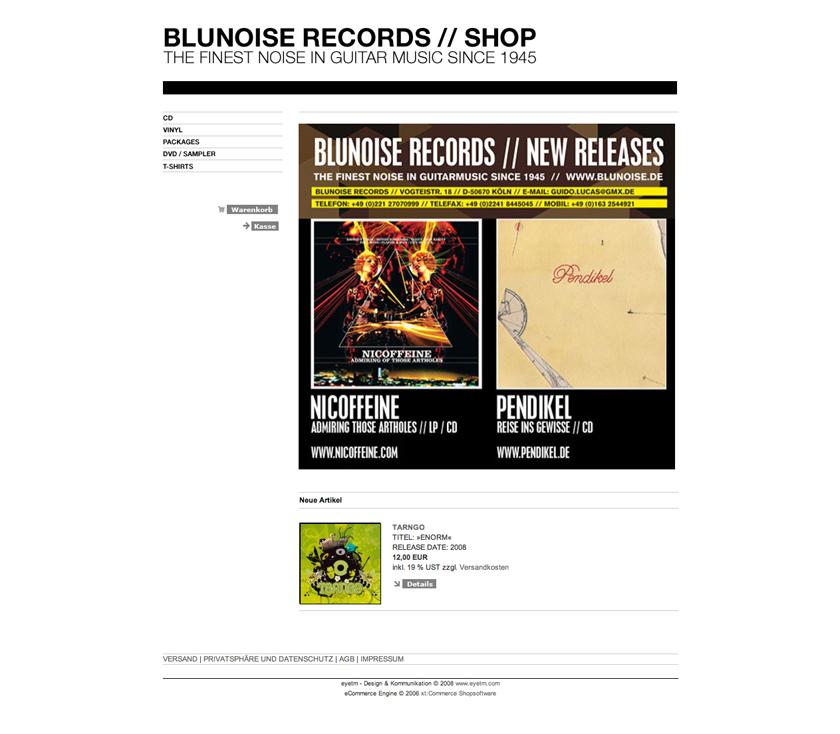 BluNoise Rec. Website