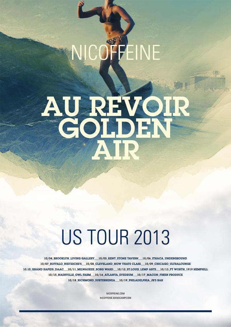 Nicoffeine US-Tour Poster 2013