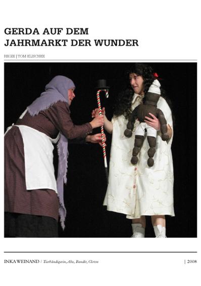 Inka Weinand / Sedcards 2008
