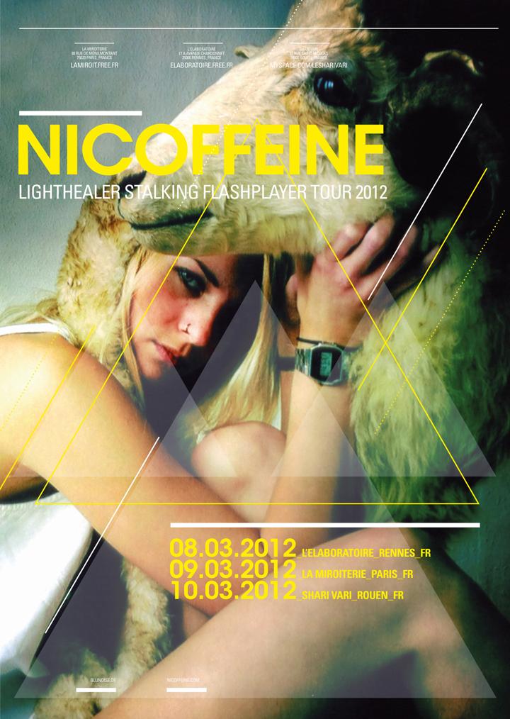 Nicoffeine EU-Tour Poster 2012