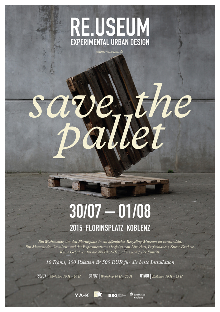 REUSEUM / Save The Pallet