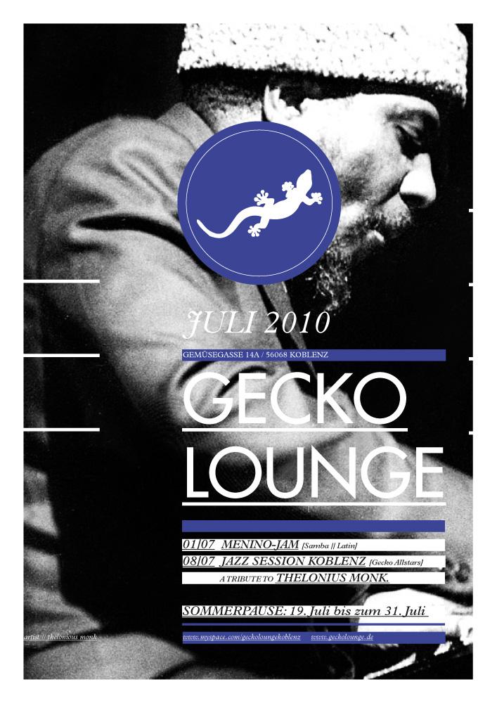 Geckolounge / Poster Series 2010
