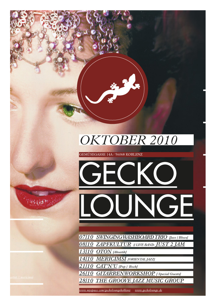 Geckolounge / Poster Series 2010